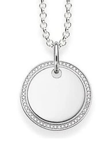 Thomas Sabo Colier din argint veritabil, decorat cu cristale zirconia Femei