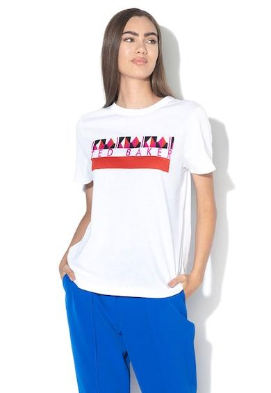 Ted Baker Tricou cu imprimeu logo Zeezan Femei