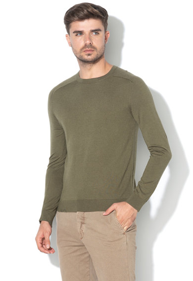 United Colors of Benetton Pulover tricotat fin cu maneci raglan Barbati