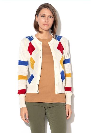 United Colors of Benetton Cardigan in carouri, din amestec de lana Femei