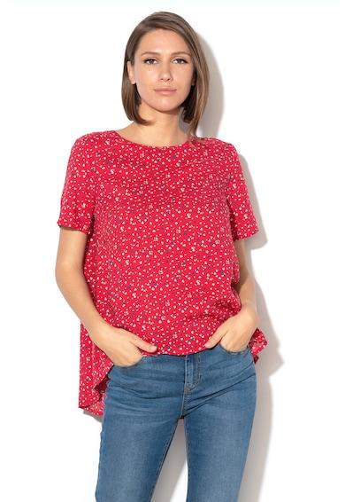 United Colors of Benetton Bluza din modal, cu terminatie asimetrica Femei