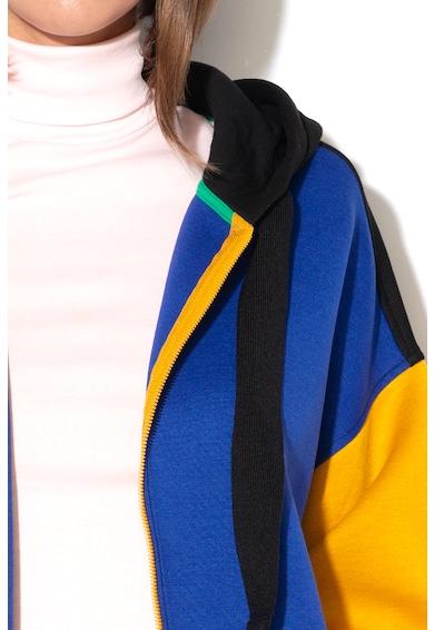 United Colors of Benetton Hanorac cu model colorblock Femei