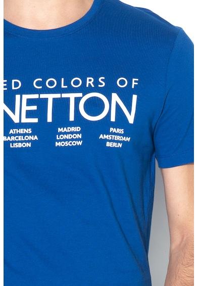 United Colors of Benetton Tricou cu imprimeu logo Barbati