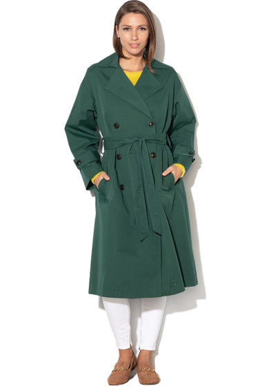 United Colors of Benetton Trenci cu doua randuri de nasturi si cordon Femei