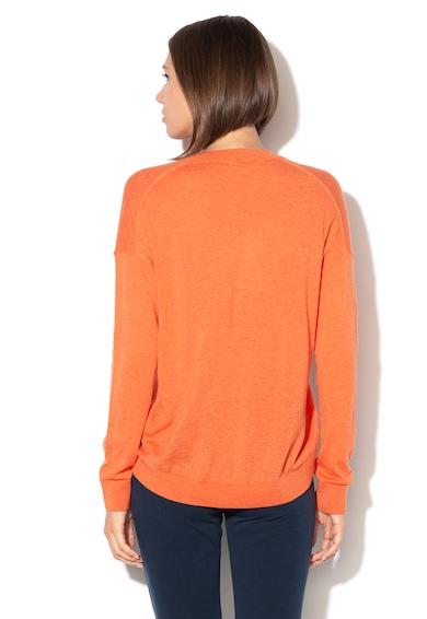 United Colors of Benetton Pulover lejer din amestec de lana si lyocell Femei