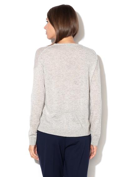 United Colors of Benetton Pulover tricotat fin din amestec de lana si lyocell Femei