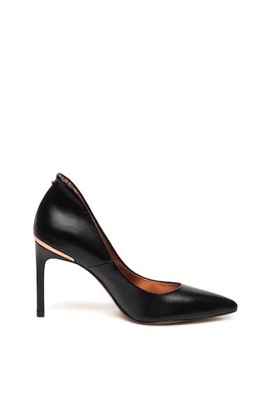 Ted Baker Кожени обувки Savioel с висок ток Жени