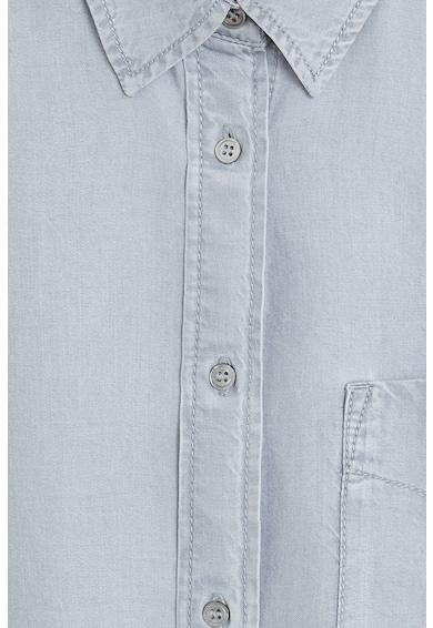 Mango Риза Class от лиосел с джоб на гърдите Жени