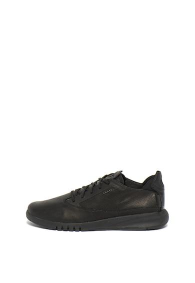 Geox Pantofi sport de piele Aerantis Barbati