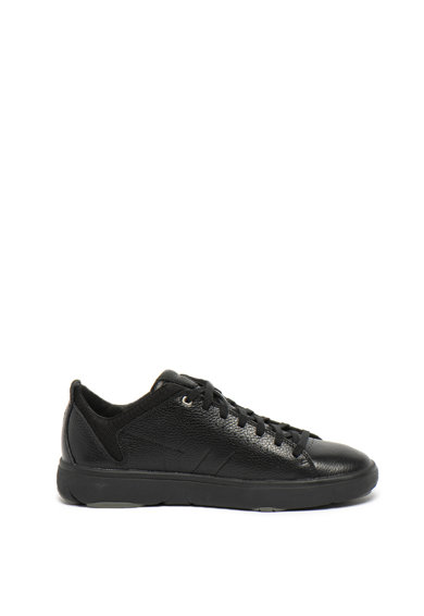 Geox Pantofi sport de piele, cu insertii textile Nebula Barbati