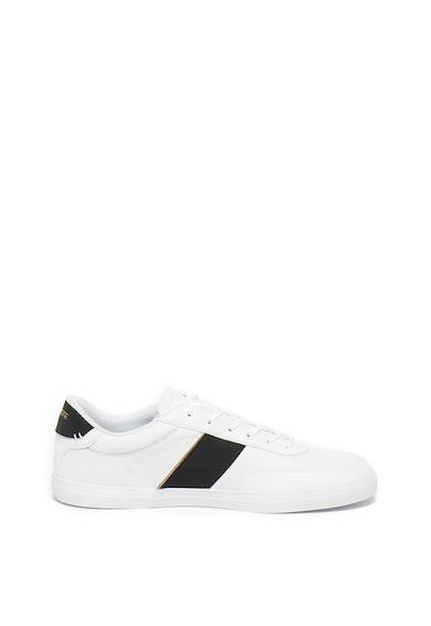 Lacoste Pantofi sport cu insertii de piele si OrthoLite® Court-Master Barbati