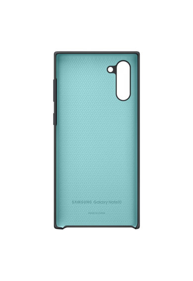 Samsung Защитен калъф  Silicone Cover за Galaxy Note 10, Black Жени