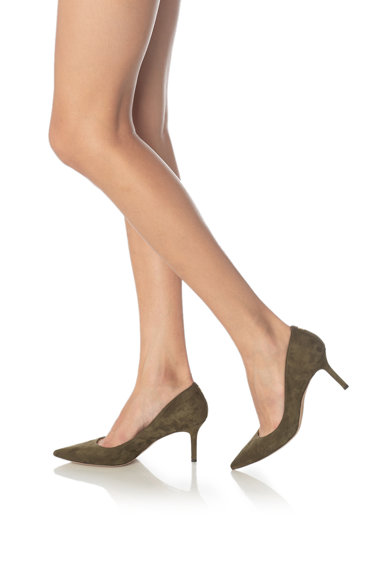 Lauren Ralph Lauren Pantofi de piele intoarsa Lanette Femei