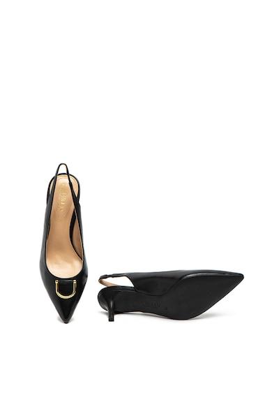 Lauren Ralph Lauren Pantofi slingback de piele Amsberg Femei