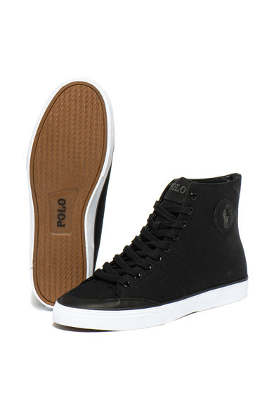 Polo Ralph Lauren Pantofi sport inalti cu garnituri de piele Solomon Barbati