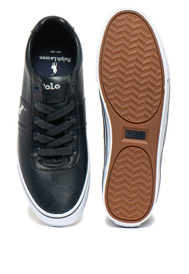Polo Ralph Lauren Pantofi sport de piele cu logo brodat Hanford Barbati