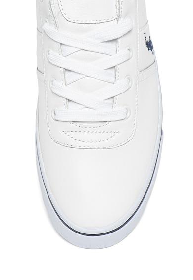 Polo Ralph Lauren Pantofi sport de piele, cu logo brodat Hanford Barbati