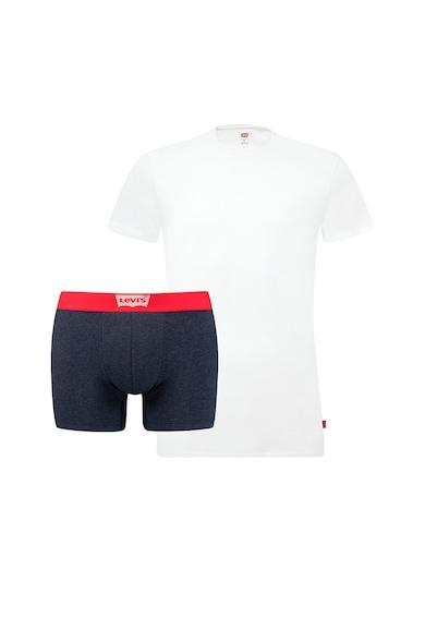 Levi's Set de tricou cu decolteu la baza gatului si boxeri Barbati