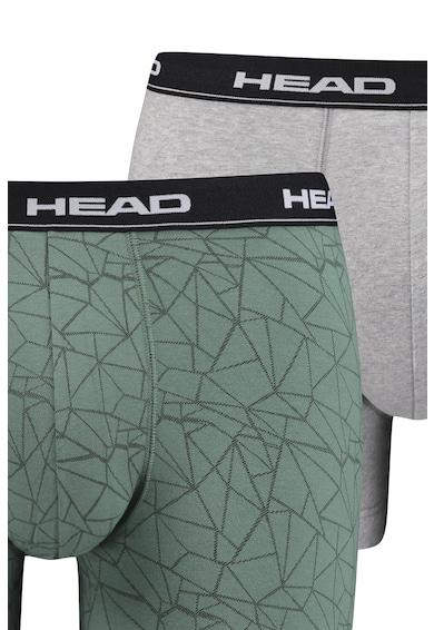 Head Set de boxeri cu model grafic - 2 perechi Barbati