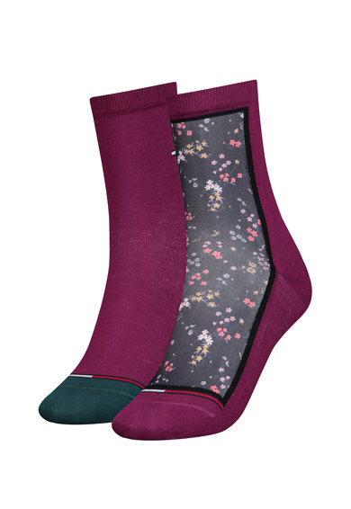 Tommy Hilfiger Чорапи с щампа - 2 чифта Жени