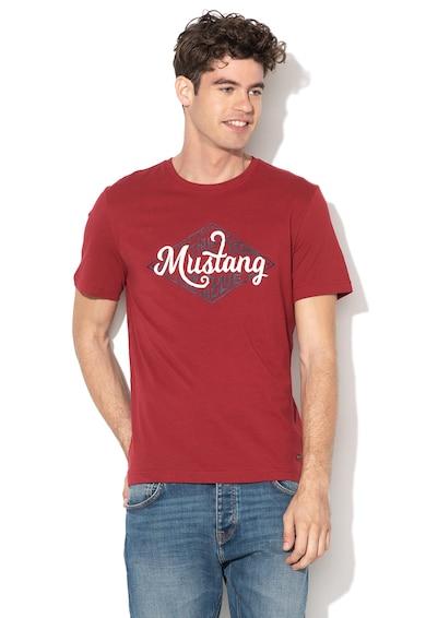 Mustang Alex logós póló férfi