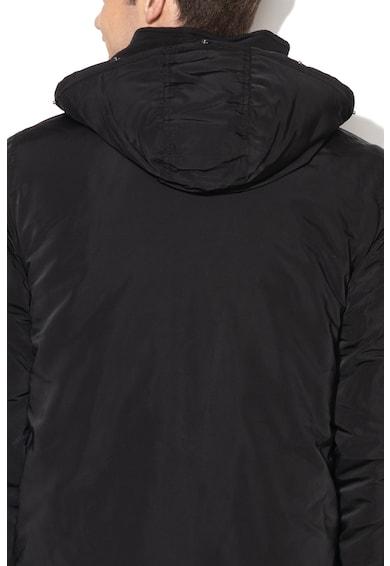 Mustang Dietmar kapucnis télikabát levehető műszőrme szegéllyel férfi