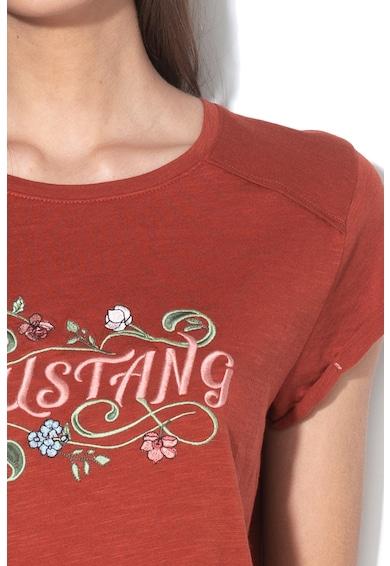 Mustang Audrey logómintás póló női