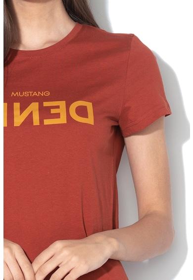 Mustang Tricou cu imprimeu logo Femei