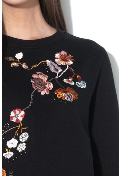 Mustang Bea pulóver virágos hímzéssel női