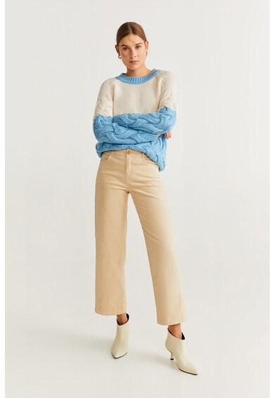 Mango Pulover cu model torsade Lima Femei