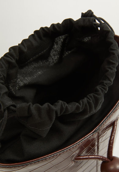 Mango Geanta bucket cu model piele de reptila Noosa Femei