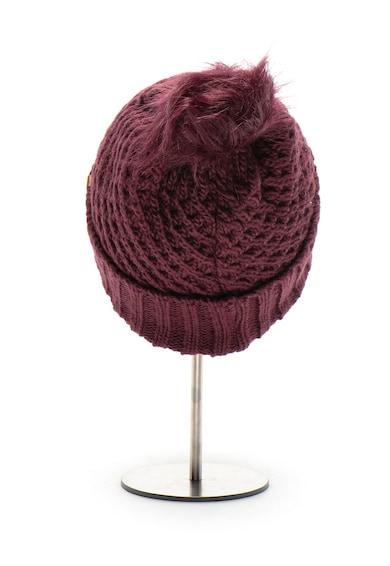 ROXY Плетена шапка Blizzard с помпон Жени