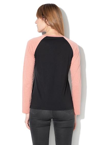ROXY Bluza din amestec de bumbac cu imprimeu logo Femei