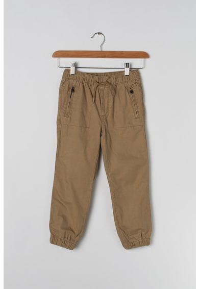 GAP Pantaloni cu croiala conica si captuseala din jerseu Baieti