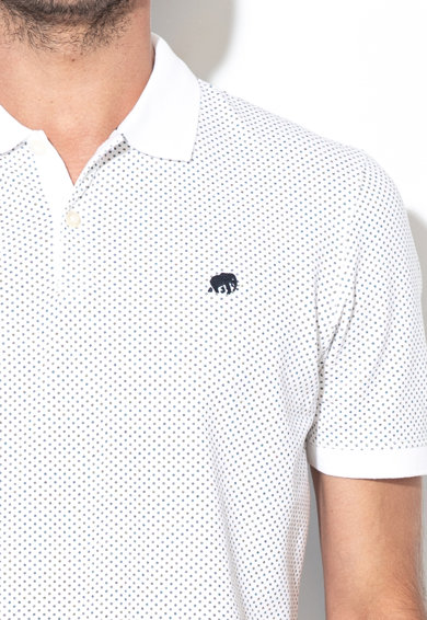 Banana Republic Влагоотвеждаща тениска от пике с яка Мъже