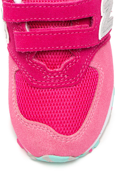 New Balance 574 tépőzáras sneaker hálós anyagú betétekkel Lány