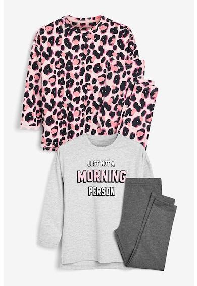 NEXT Set de pijamale cu imprimeu - 2 perechi Fete