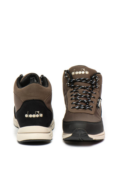 Diadora Pantofi sport mid-high cu insertii de material textil Cliff Barbati