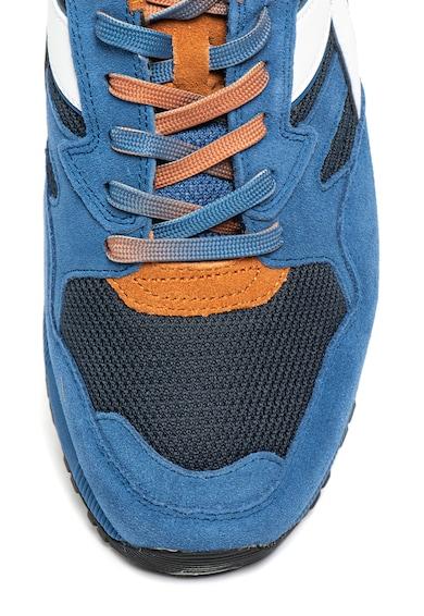 Diadora Pantofi sport de piele cu garnituri de material textil Faded Femei