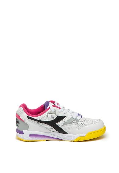 Diadora Pantofi sport cu model colorblock si garnituri de piele Rebound ACE Femei