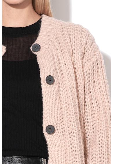 Vila Cardigan tricotat din amestec de lana Viabra Femei