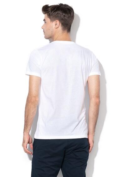 Esprit Slim fit logómintás póló férfi