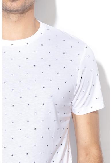 Esprit Tricou regular fit cu imprimeu geometric Barbati