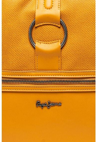 Pepe Jeans London Раница Daphne от еко кожа с лого Жени