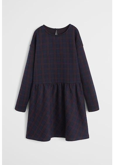 Mango Карирана разкроена рокля Luna Момичета