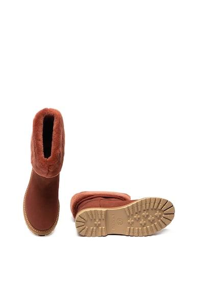 Timberland Cizme impermeabile de piele nabuc cu garnitura de piele sintetica Chamonix Valley Femei