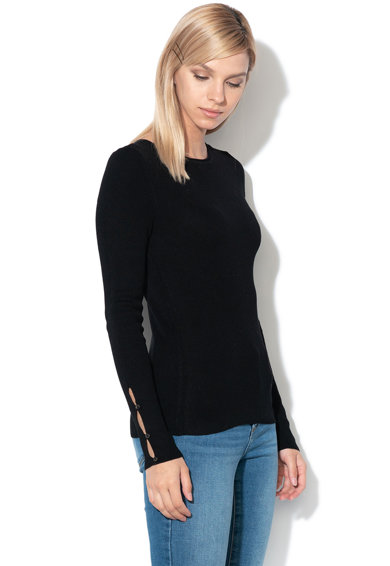 Only Пуловер Liza с рипс Жени