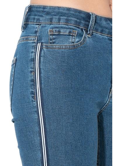 JdY Blugi skinny cu segmente laterale contrastante Kika Femei