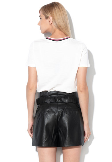 Vero Moda Tricou din bumbac organic cu imprimeu text Faye Femei