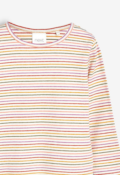 NEXT Bluza cu striatii si terminatii valurite Fete